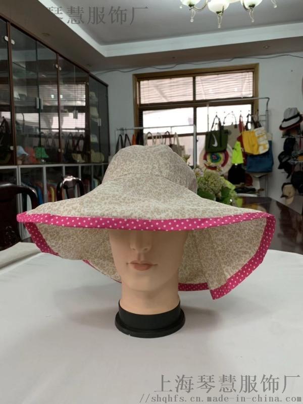渔夫帽休闲帽上海实体源头工厂