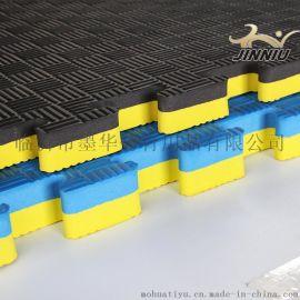 支持定制防滑跆拳道垫子高密度加厚训练泡沫运动地垫健身房散打