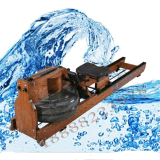 水阻划船器全球爆款白蠟木水阻划船機划槳機價格