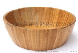 沙拉碗 NJSB1-002 salad bowl Bamboo polished environment-friendly salad bowl
