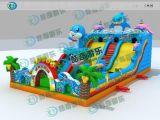 大型新款夢幻城堡組合大滑梯