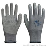 星宇劳保手套L508乳胶皱纹防护手套防滑耐磨舒适透气劳保防护手套