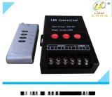 5V-24V三路控制器 LED七彩控制器 RGB無線射頻搖控器