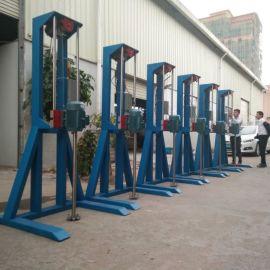 安徽芜湖供应 全新5.5kw电动高速分散机  混合搅拌机
