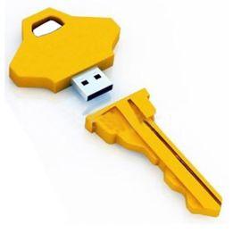 钥匙形状优盘礼品定做,动物元素u盘外壳