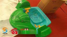水上游乐设备单人儿童手摇船亲子船