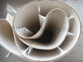 青岛PVC白色裙边带 白色环形带 白色隔板带