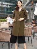 一线欧美潮牌双面羊绒大衣品牌折扣店一手货源