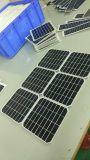 定製  單晶太陽能電池板  批發熱銷 太陽能玻璃板 戶外燈太陽能板
