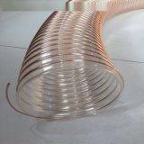 德州PU鋼絲管 木工吸塵管 環保設備通風排煙管