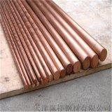 耐腐專用拉絲紫銅棒 廠家專業定製各種規格銅棒加工