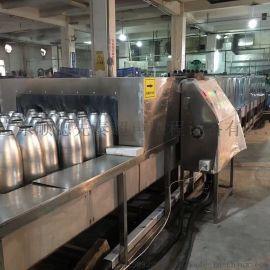 佛山中山东莞通过式不锈钢保温瓶喷淋除油清洗烘干机