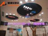 爱浦乐P4室内天花板圆形广告创意LED显示屏