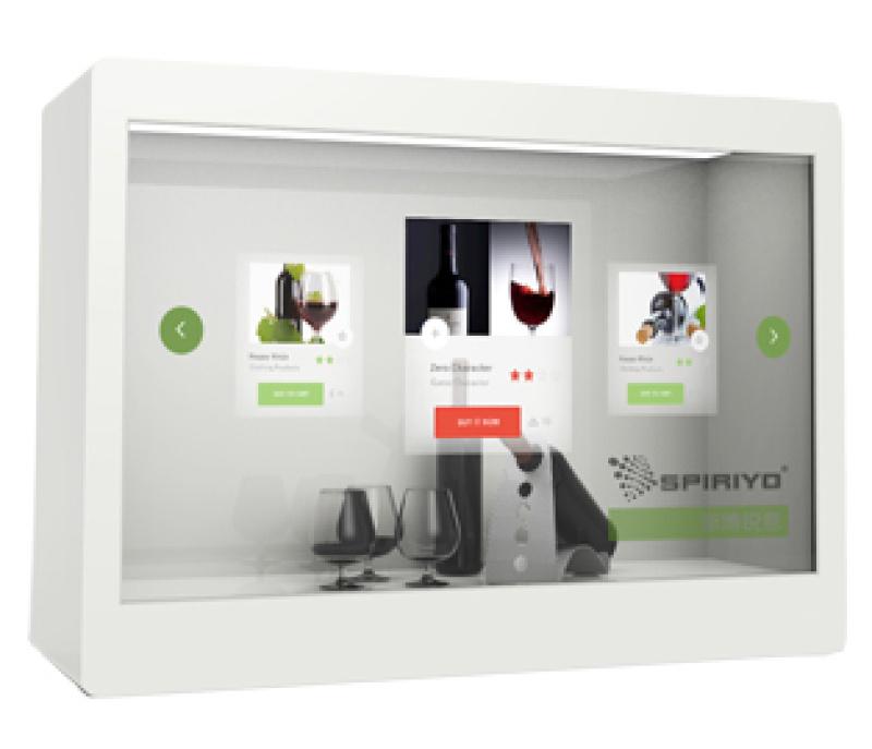 YC-PL系列透明液晶展示柜(标准型)
