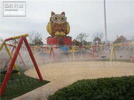 贵州游乐园人造雾,超细喷雾降温,冷雾雾森系统