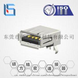 usb 3.0母座插板連接器