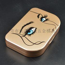 可定制浮雕印刷图案假睫毛盒