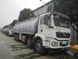 陕汽前四后八减水剂 洗井液罐式运输车