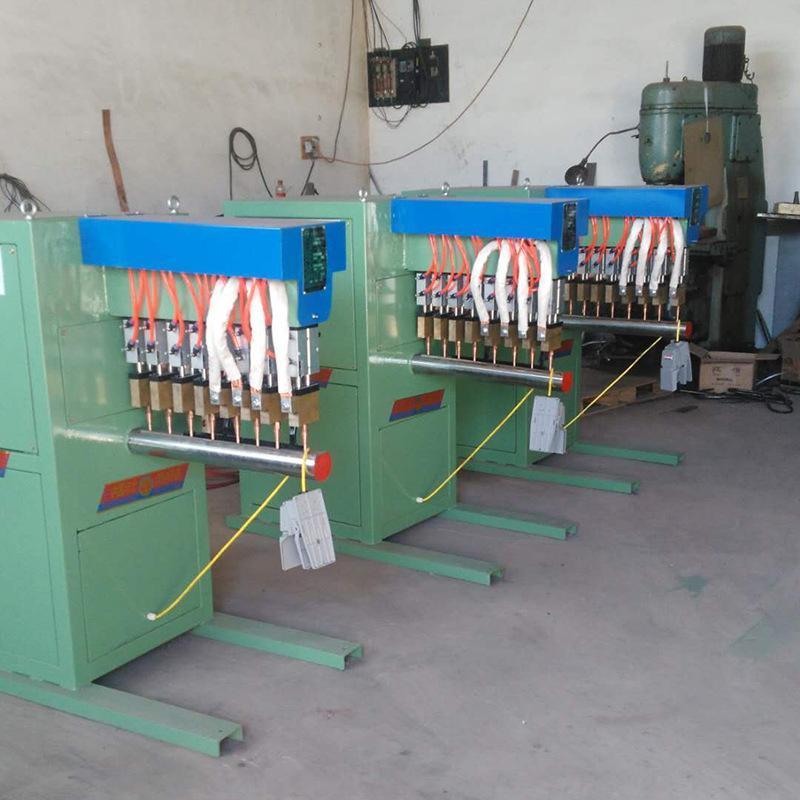 廠家供應工業金屬氣動點焊機碰焊設備快速電阻點焊機