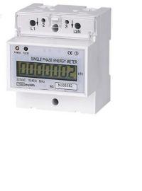 单相导轨式多功能电力仪表