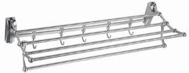 全不锈钢活动合金毛巾架(H-014)