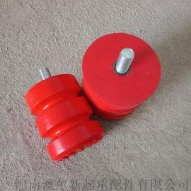 起重机缓冲器 聚氨酯缓冲器  起重机安全缓冲装置