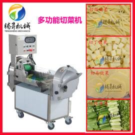 果蔬自动切菜机 叶菜根茎蔬菜二合一果蔬切菜机