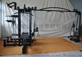 八人站综合训练器/力量器械/美能达健身器材