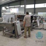 國外友人推薦使用洗筐機 塑料筐清洗機器廠家