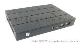 房产中介办公电脑X1N云终端 电脑终端机 拖机盒