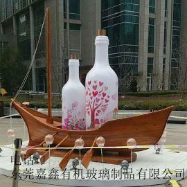 超大型亚克力瓶子装饰瓶子有机玻璃定制产品