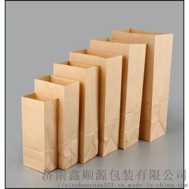 白牛皮纸食品打包袋定制生产厂家