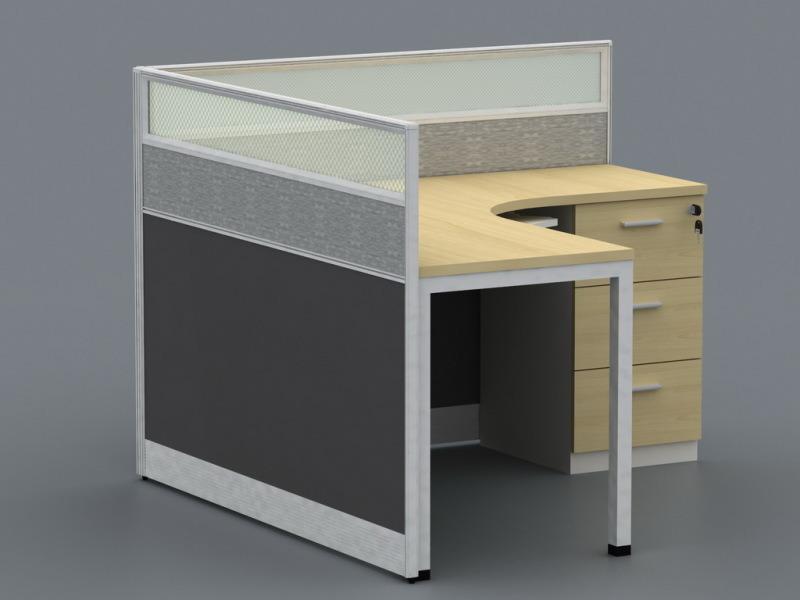 新款办公室屏风卡位办公桌