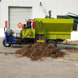多功能撒料车 带粉碎功能的搅拌车 tmr喂料车
