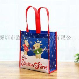 环保手提礼品广告覆膜袋