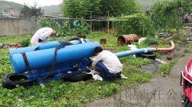 浮筒液位泵,潜水泵浮筒式,江河排水泵