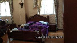 重庆明伟现代欧式风格双人床,1.2米1.35米1.5米1.8米单双层床