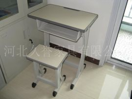 河北培训桌椅定做尺寸,单人升降课桌椅,课桌椅生产厂家