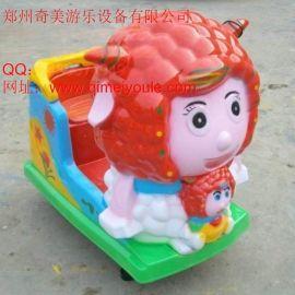 颜色靓丽儿童游乐设备儿童摇摇车批发定制