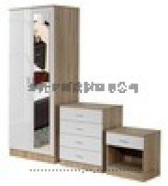 訂做出口板式家具組裝式衣櫃