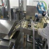 供應藕條裹液體漿的設備 藕條上漿油炸整套生產線