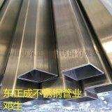 貴州不鏽鋼方管,拉絲304不鏽鋼方通