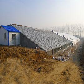 光伏温室大棚 生态温室造价 文洛式玻璃温室大棚工程