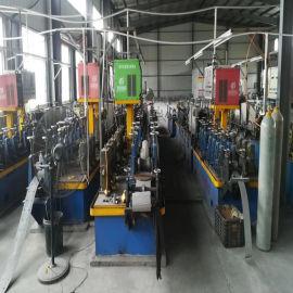 二手高频工业制管机价格 自动化卫生级不锈钢输送水管制管机组