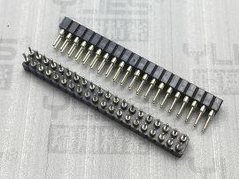 269-2.0mm 圆孔排母连接器 180度