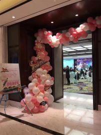 昆明花語花香商場氣球裝飾慶典氣球布置年會氣球裝飾