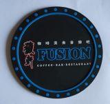 订做卡通杯垫 圆形杯垫 滴胶杯垫