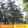 led户外广场庭院燈3米3.5米室外道路照明