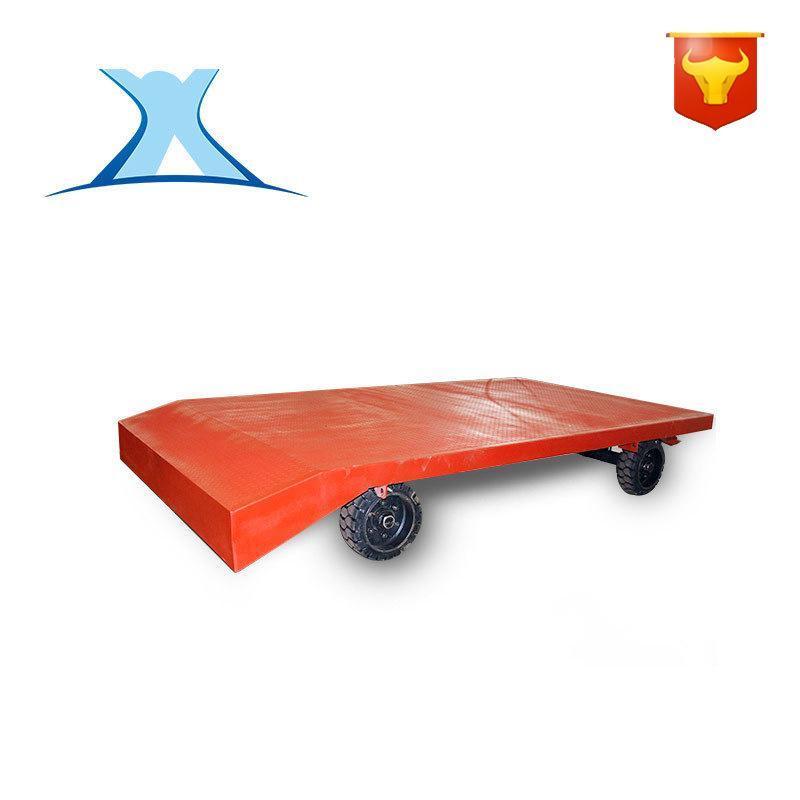 轻型转运折叠搬运拖车 牵引杆平板拖车