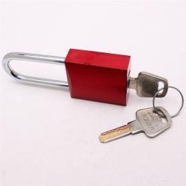通开挂锁锌合金材质二级管理子母锁挂锁工业电力箱锁厂家定制